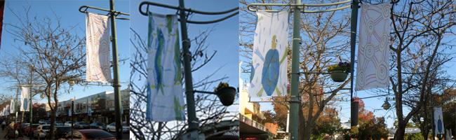 Aboriginal Banner, City Centre