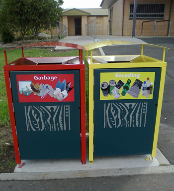 Public Place Recycling Bin