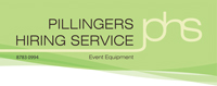 Logo of Pillingers Hiring Service