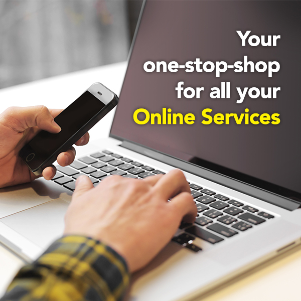 Your one-stop-shop for all your online services
