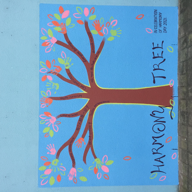 Harmony Tree Mural
