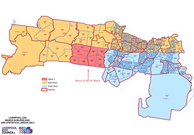 Click here to see the Map 1 ward image in full version