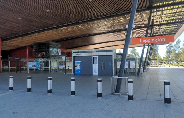 Leppinton Station