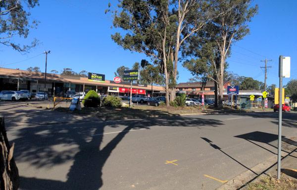 Current Austral Shops on Edmondson Avenue