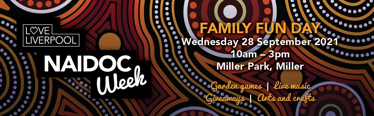 Naidoc Week Miller Family Fun Day