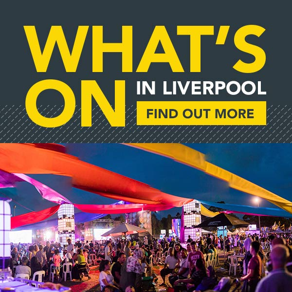 What's On flyer for Liverpool On A Roll.